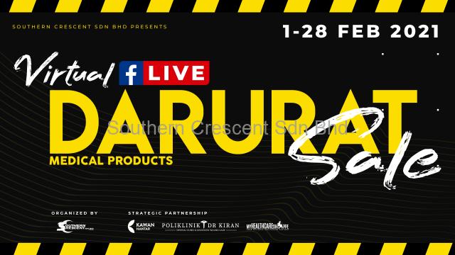 Virtual Facebook Live Darurat Sale